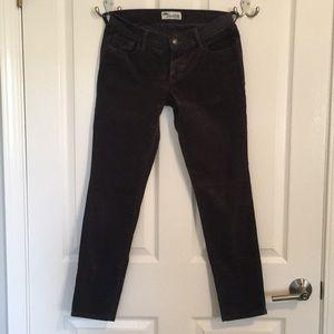 Old Navy gray corduroy pants